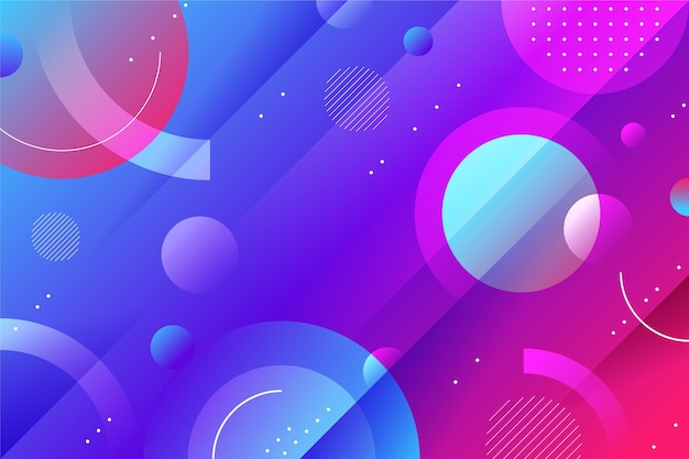 Gradient abstract background design