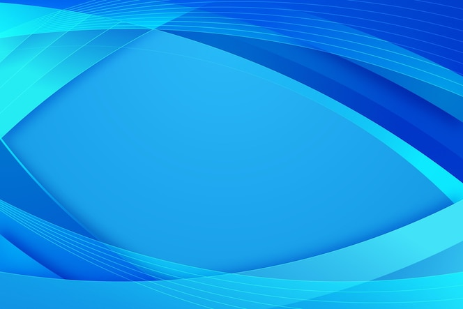 Gradient abstract blue background
