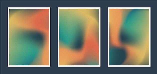 Градиент абстрактные размытые обложки