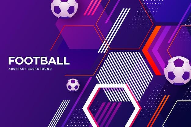 Градиент абстрактный футбольный фон