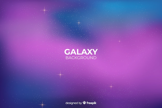 Gradient abstract galaxy background