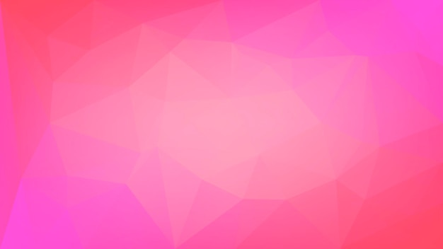Gradient abstract horizontal triangle background. red polygonal backdrop for business presentation. trendy geometric abstract banner. corporative flyer design. mosaic style.