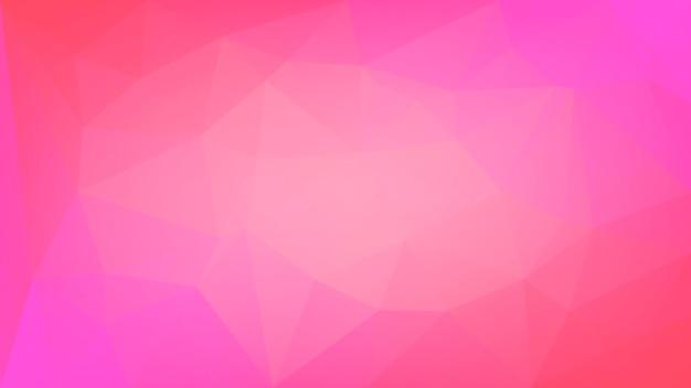 グラデーションの抽象的な水平三角形の背景。ビジネスプレゼンテーション用の赤い多角形の背景。トレンディな幾何学的な抽象的なバナー。共同チラシデザイン。モザイクスタイル。