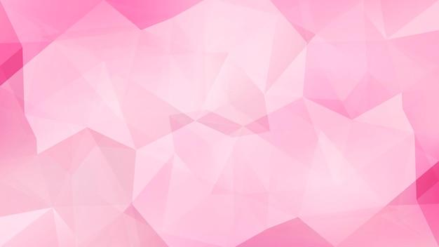 グラデーションの抽象的な水平三角形の背景。ビジネスプレゼンテーション用のブドウ色、赤、つる色の多角形の背景。トレンディな幾何学的な抽象的なバナー。共同チラシデザイン。モザイクスタイル。