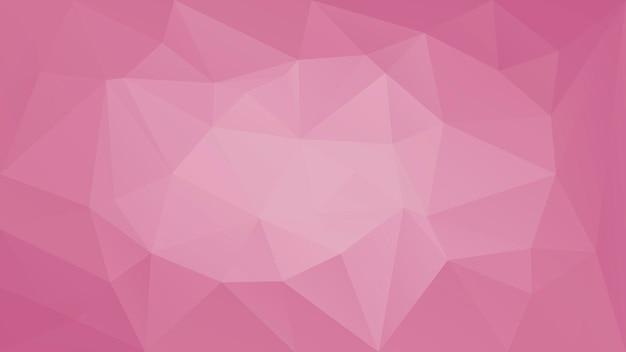 グラデーションの抽象的な水平三角形の背景。ビジネスプレゼンテーション用のブドウ色、赤、つる色の多角形の背景。トレンディな幾何学的な抽象的なバナー。技術コンセプトチラシ。モザイクスタイル。