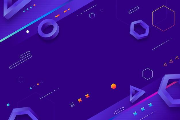 Градиент абстрактный фиолетовый фон