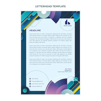Carta intestata immobiliare astratta sfumata