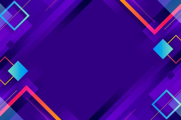 グラデーションの抽象的な正方形の背景