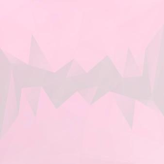 Градиент абстрактный фон квадратный треугольник. розовый и серый многоугольный фон для мобильного приложения и интернета. модный геометрический абстрактный баннер. флаер концепции технологии. мозаичный стиль.