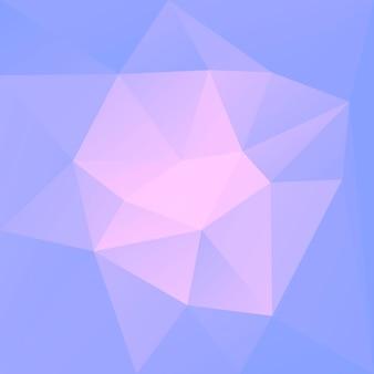 グラデーションの抽象的な正方形の三角形の背景。ビジネスプレゼンテーション用の紫と黄色の多角形の背景。トレンディな幾何学的な抽象的なバナー。共同チラシデザイン。モザイクスタイル。