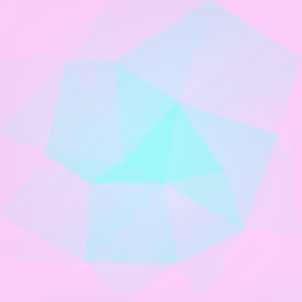Gradient abstract square triangle background. tender pink and blue polygonal backdrop for mobile application and web. trendy geometric abstract banner. corporative flyer design. mosaic style.