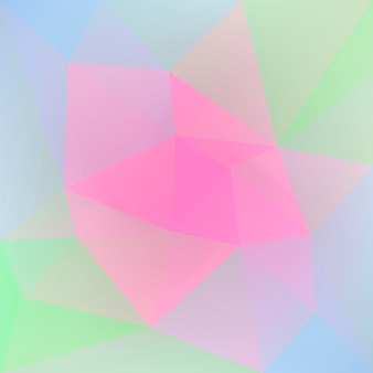 Gradient abstract square triangle background. vibrant rainbow multicolored polygonal backdrop for business presentation. trendy geometric abstract banner. corporative flyer design. mosaic style.