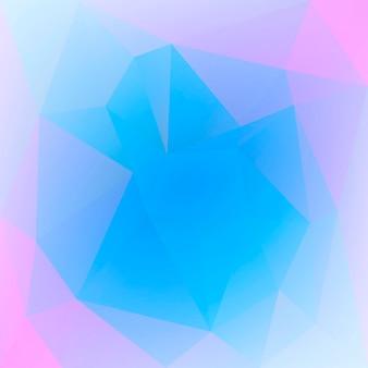 グラデーションの抽象的な正方形の三角形の背景。モバイルアプリケーションとウェブ用の鮮やかな虹色の多色の多角形の背景。トレンディな幾何学的な抽象的なバナー。共同チラシデザイン。モザイクスタイル。