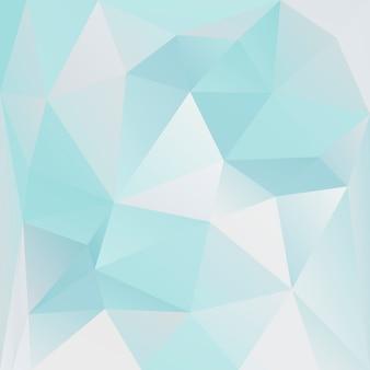 グラデーションの抽象的な正方形の三角形の背景。