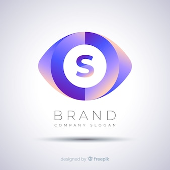 Gradient abstract template business logo
