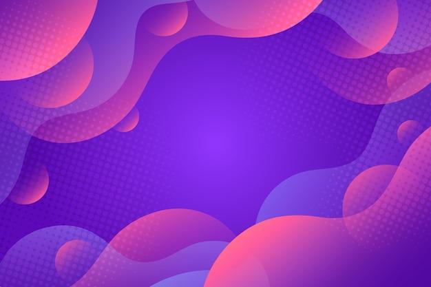グラデーションの抽象的な波状の背景