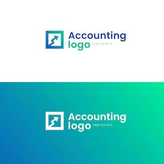 Gradient accounting logos