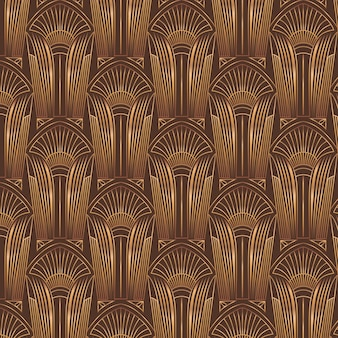 그라데이션 아트 데코 패턴 디자인