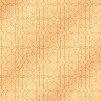 グラデーションのアールデコ パターン デザイン