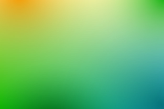 Gradient background in green shades