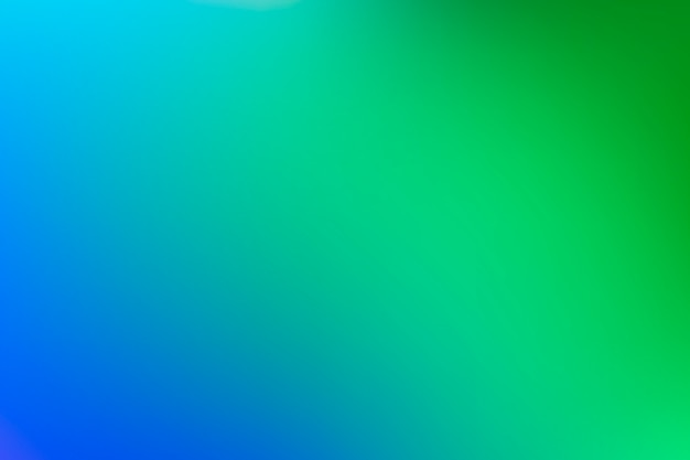 Gradient background in green tones concept