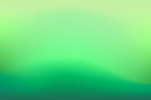 Gradient background in green tones