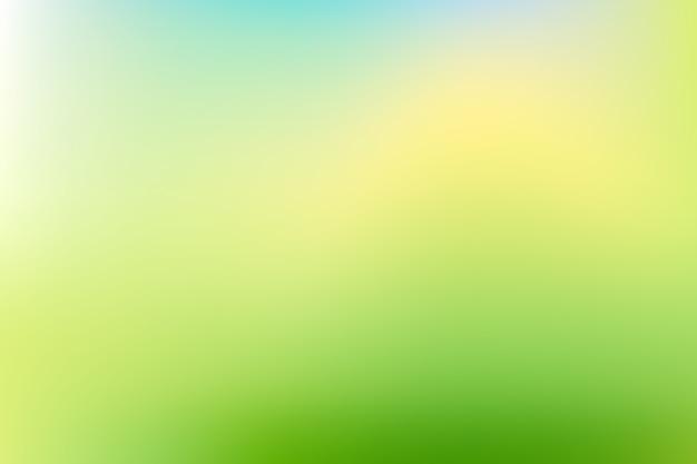 Градиентный фон в зеленых тонах