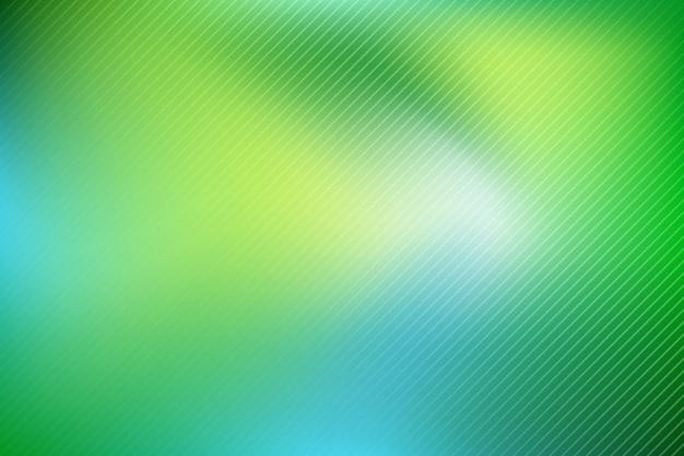 緑の色合いのグラデーションの背景