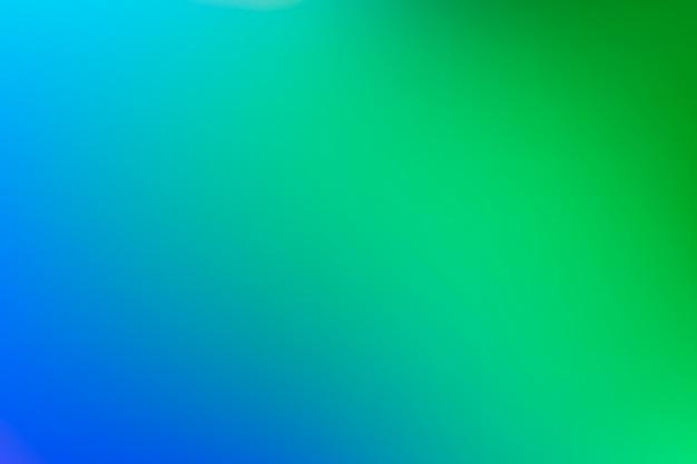 緑の色調の概念のグラデーションの背景