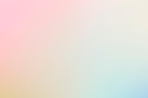 Gradient background vector in spring colors