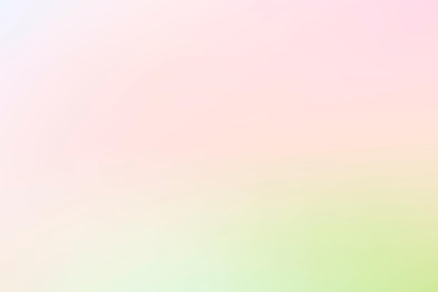 Gradient background vector in spring light pink and green