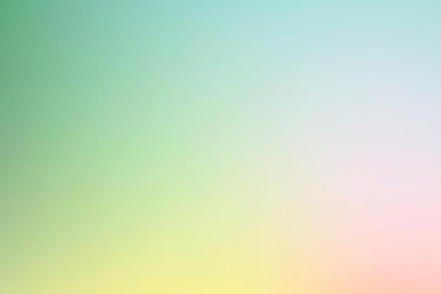 Vettore di sfondo sfumato in primavera rosa chiaro e verde