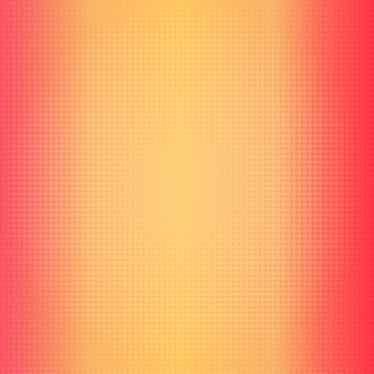 Gradient background in warm colors with halftone dots