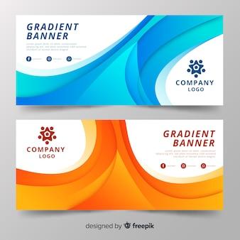 Gradient banner