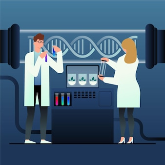 Иллюстрация концепции градиента биотехнологии