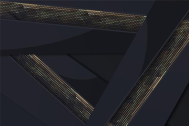 Градиент черный фон с золотыми текстурами