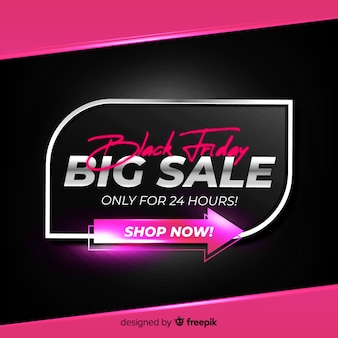 Gradient black friday big sale just for one day