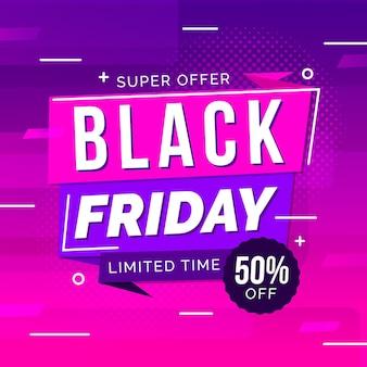 Gradient black friday offer
