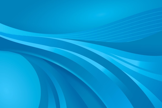 Gradient blue smooth background