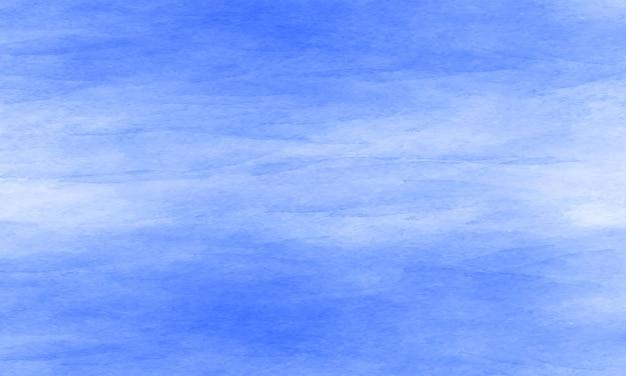 그라데이션 블루 수채화 배경