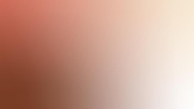 グラデーション、ぼやけた茶色、珊瑚、シャンパン、白いグラデーションの壁紙の背景