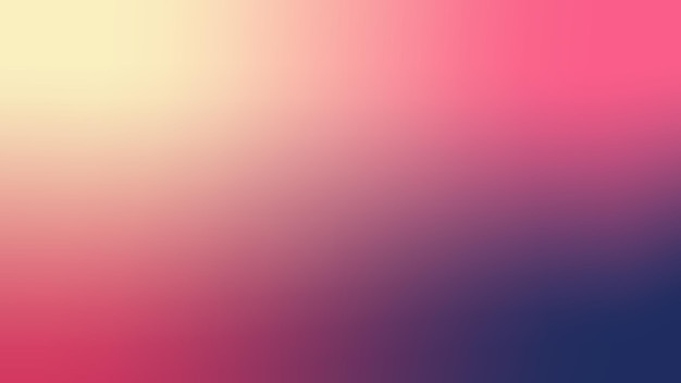 グラデーション、ぼやけた濃い青、バラの赤、シャンパン、ホットピンクのグラデーションの壁紙の背景