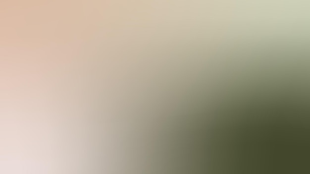 グラデーション、ぼやけたオリーブグリーン、リント、ホタテ貝殻、クリーム色のグラデーションの壁紙の背景