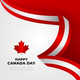 그라디언트 캐나다 하루 그림