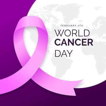 Evento del giorno del cancro gradiente