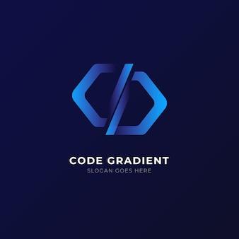 グラデーションコードのロゴ