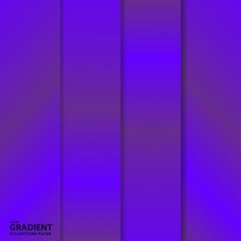 그라데이션 컬러 컬렉션 팩 템플릿