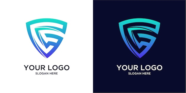 Gradient colored g logos