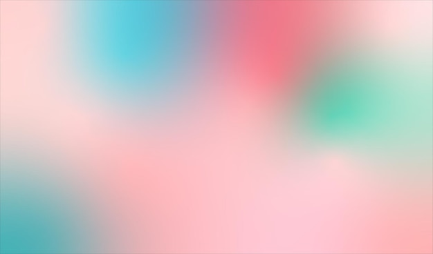 Gradient colorful abstract background. illustration.