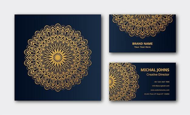 Градиент красочный мандала визитная карточка фон обои